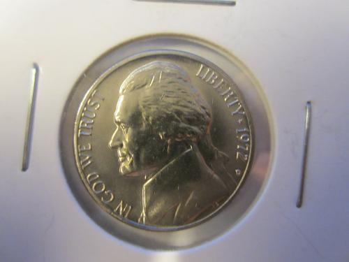 1972 D Jefferson Nickels