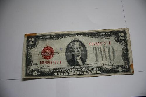 SERIES 1928G  $2.00 UNITED STATES NOTE