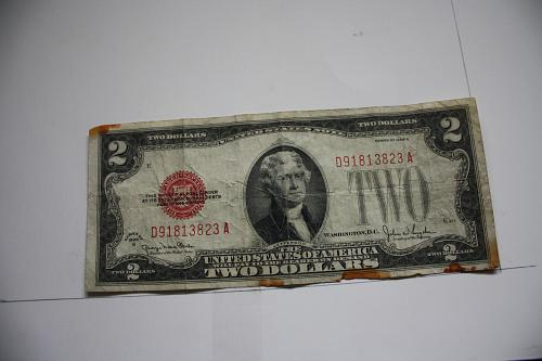 SERIEA 1928G  $2.00 UNITED STATES NOTE