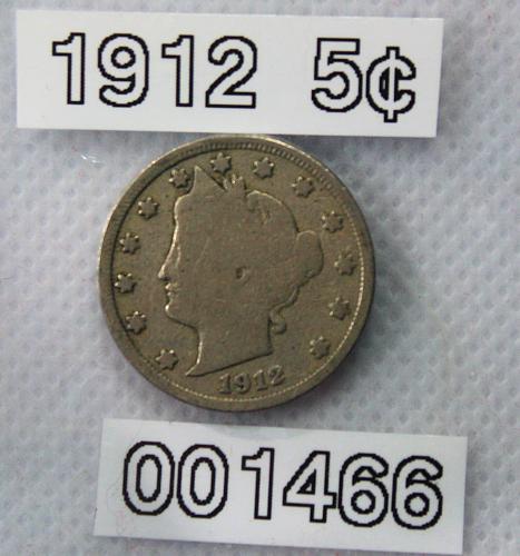 "1912 Liberty ""V"" Nickel"