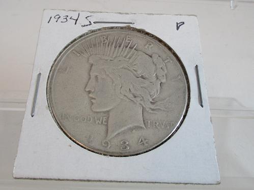 1934 S Peace Dollar  #5