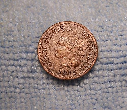 1885 INDIAN HEAD CENT  xf