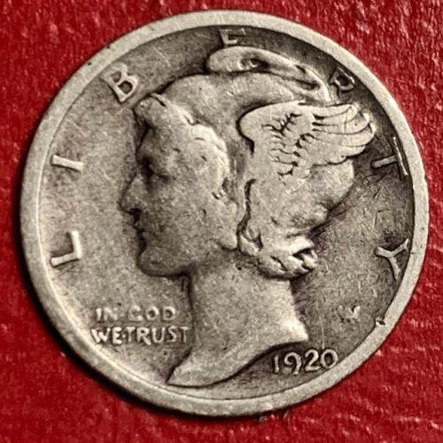 1920S Mercury Dime