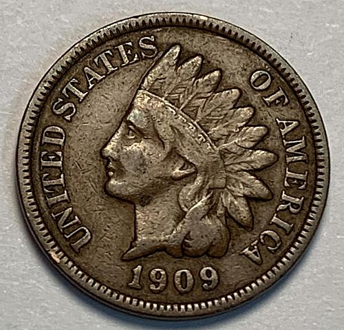 1909 Indian Head Cent F [IC 14]