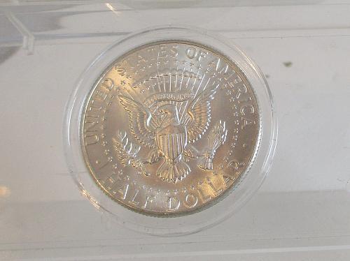 1964 D Kennedy Half Dollar #3  ENCAPSULATED