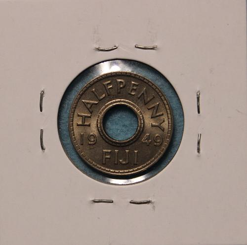 Fiji 1949 half penny