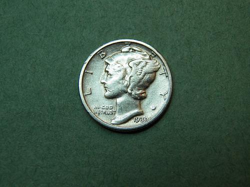 1930 S Mercury Dime   v31