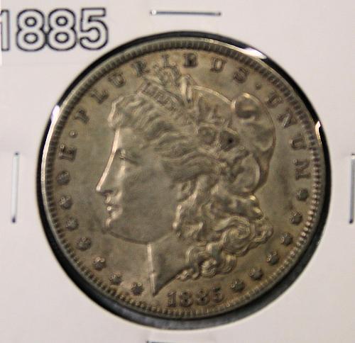 1885 Morgan 1$