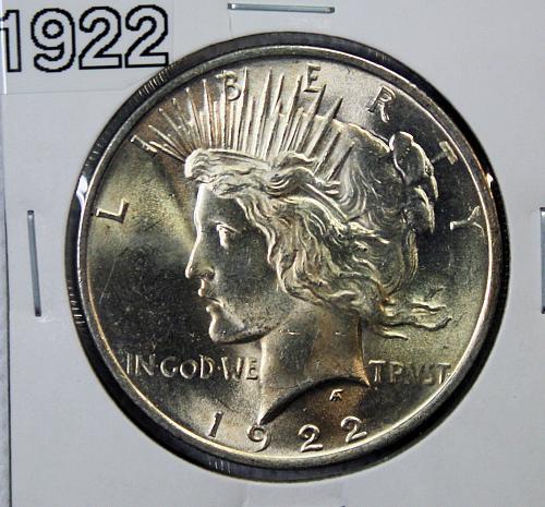 1922 Peace 1$