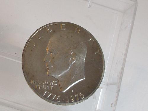 1976-S EISENHOWER DOLLAR  #2,TYPE 2