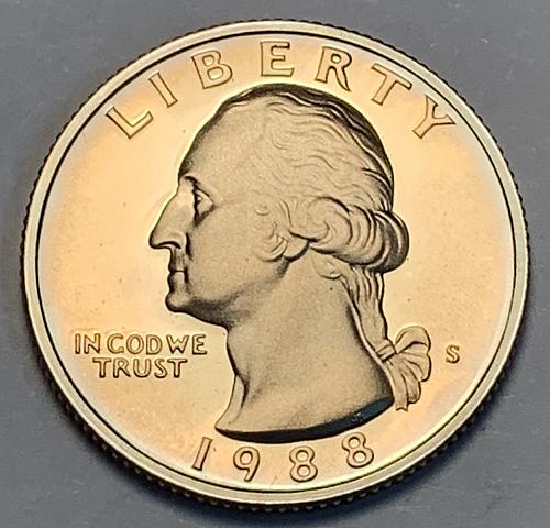 1988-S Washington Quarter Proof [BSWQ 77]