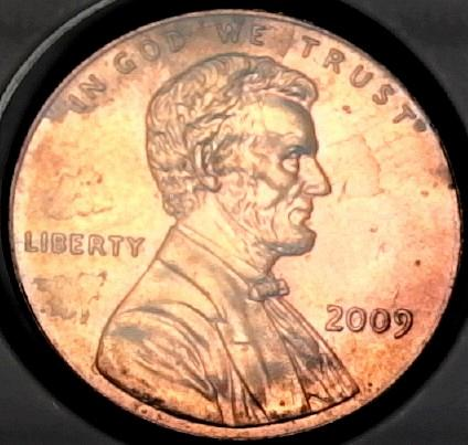 2009 P Lincoln Memorial Cent Small Cent: Birth and Early Childhood Kentucky LP1