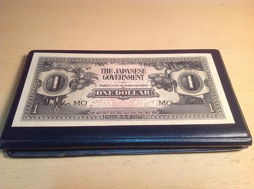 1942 Japanese 1 Dollar Invasion Note