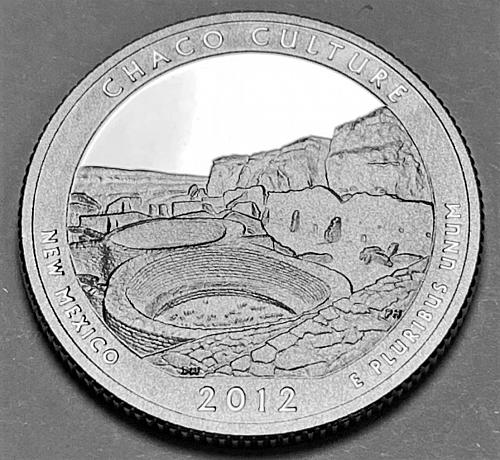 2012-S America The Beautiful Chaco Culture, New Mexico Quarter Proof [BSWQ 79]