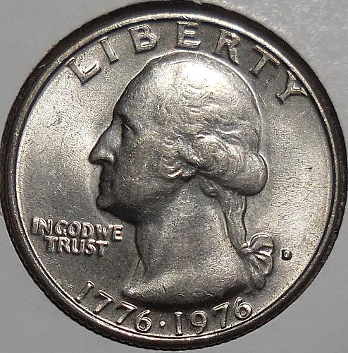 1976-D Bicentennial Quarter *