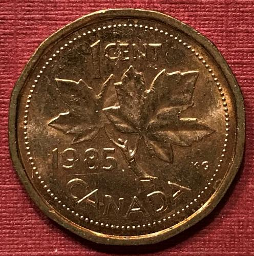 Canada 1985 = 1 Cent