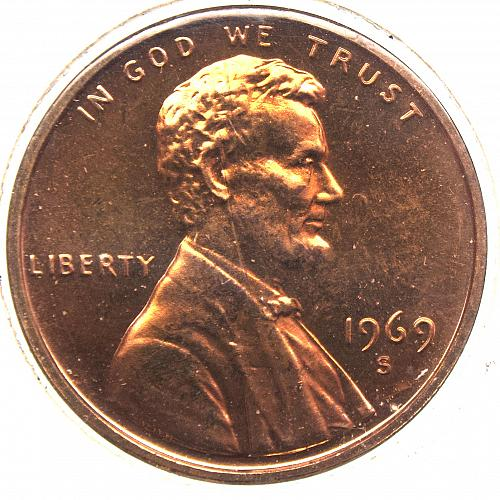 1969 S Lincoln Memorial Cent#3 PROOF