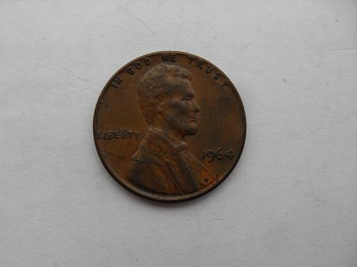 1964-P cent Laminated obverse