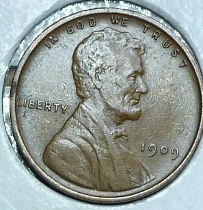 1909-P Uncirculated Lincoln Wheat Cent (2731)