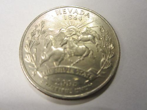 2006 P Nevada 50 States and Territories Quarter