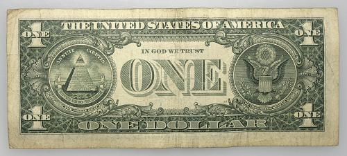 2013 $1 Federal Reserve Star Note#24 Circulated