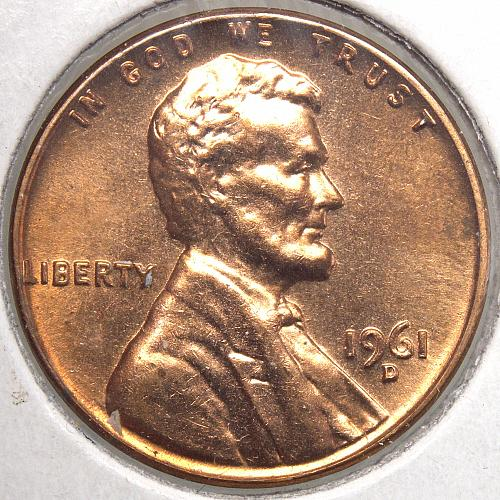 1961 D Lincoln Memorial Cent #9