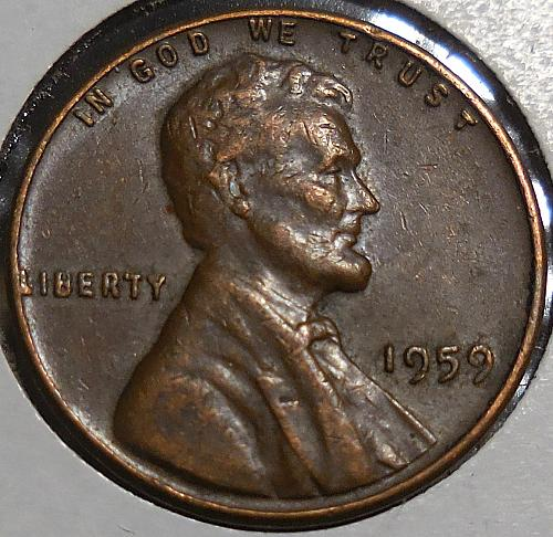 1959-P Lincoln Memorial Cent