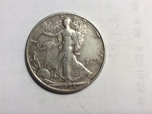 1943 S Walking Liberty