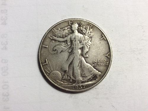 1937 Walking Liberty