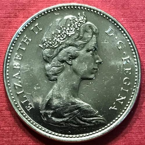 Canada 1968 = 5 Cents [#2]
