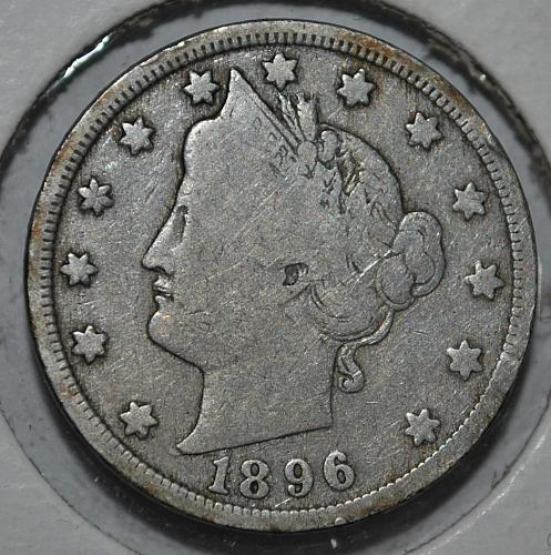 1896 P Liberty Nickel