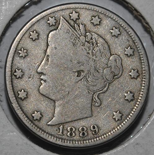 1889 P Liberty Nickel