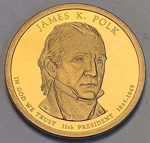 2009-S James K. Polk Presidential Dollar Proof [FPM 23]