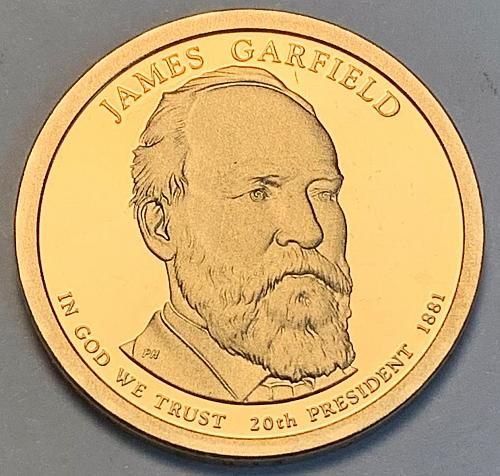 2011-S James A. Garfield Presidential Dollar Proof [FPM 30]