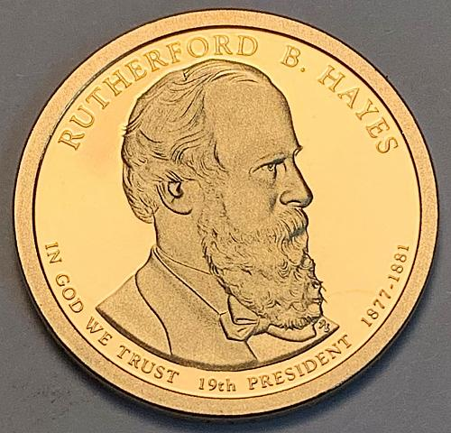 2011-S Rutherford B. Hayes Presidential Dollar Proof [FPM 31]