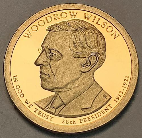 2013-S Woodrow Wilson Presidential Dollar Proof [FPM 34]