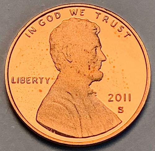 2011-S Proof Lincoln Shield Cent [LC 19]