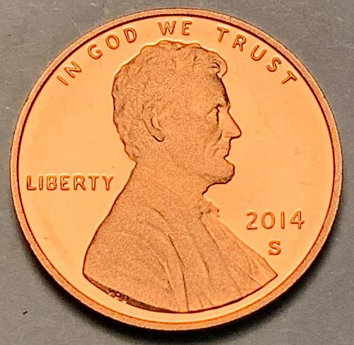 2014-S Proof Lincoln Shield Cent [LC 22]