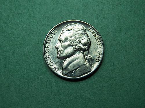 1940 P Jefferson Nickel BU Coin  v54