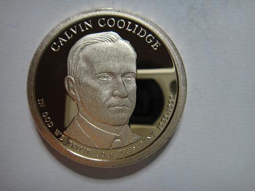 2014-S Coolidge Presidential Dollar Proof-66 (GEM+)