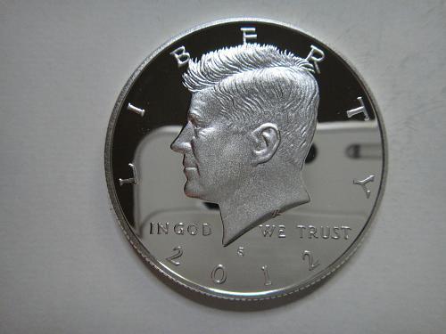 2012-S SILVER Proof Kennedy Half Dollar PF-66 (GEM+) KEY DATE!