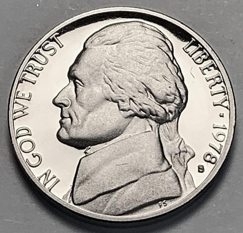 1978-S Proof Jefferson Nickel [SVB 50]