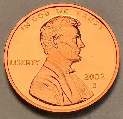 2002-S Proof Lincoln Memorial Cent [LC 24]