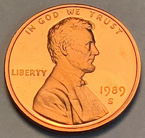 1989-S Proof Lincoln Memorial Cent [LC 27]