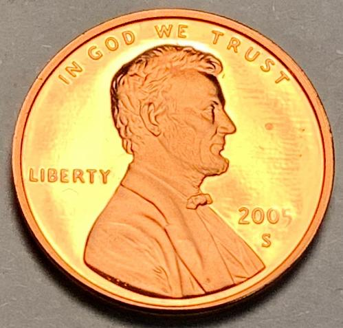 2005-S Proof Lincoln Memorial Cent [LC 31]
