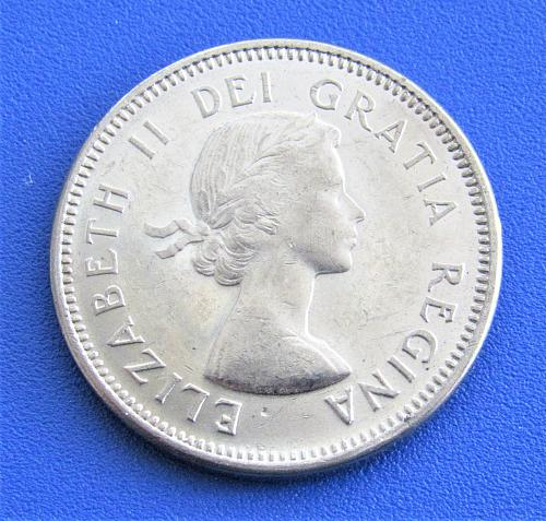 1963 - Canada 5 Cents - Beaver - Uncirculated from Mint Roll