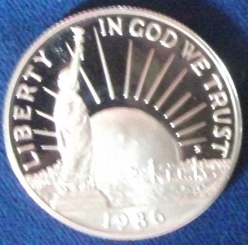 1986 Statue of Liberty Half Dollar Proof