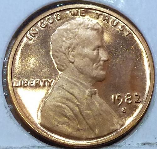 1982-S  Gem Proof Cent Memorial Lincoln Cent (126)