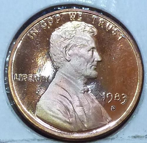 1983-S  Gem Proof Cent Memorial Lincoln Cent (125)
