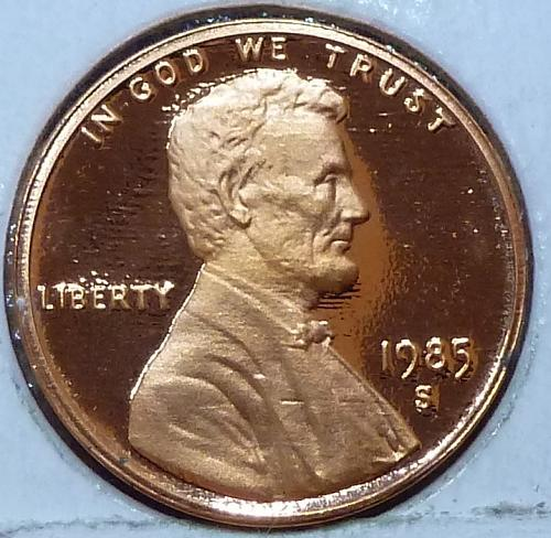 1985-S  Gem Proof Cent Memorial Lincoln Cent (123)